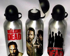 KIT CAMISETA + SQUEEZE THE WALKING DEAD