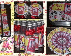 Kit Personalizado Mickey e minnie