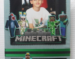 Álbum Fotos Decorado - Minecraft