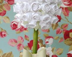 Arranjos De Flores De Papel Crepom Para Casamento
