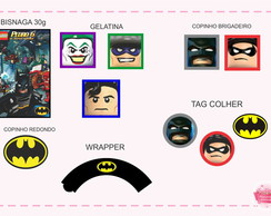 ARTE DIGITAL KIT LEGO BATMAN