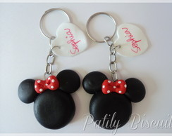 Chaveiro Minnie Mickey