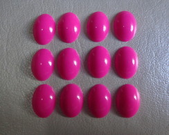 Chaton oval 10 X 14mm - Neon