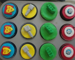 Cupcakes Marvel Avengers