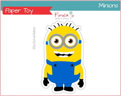 Paper Toy Digital Minions