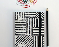Caderno Brochura Black Stripes