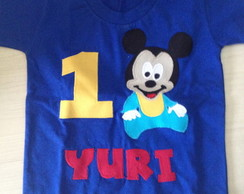 Body Ou Camiseta Baby Disney