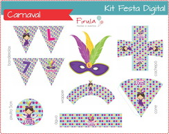 Kit Festa Digital Carnaval
