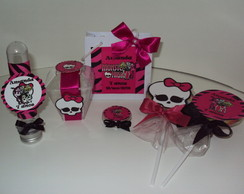 KIT LEMBRANÇA E GULOSEIMAS MONSTER HIGH!