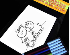 Peppa Pig Kit Para Colorir