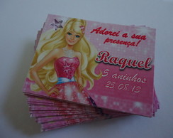 Tag 3x4 Barbie Moda e Magia