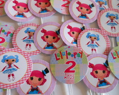 Topper Doces/cupcakes Lalaloopsy