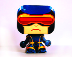 Paper Toy 3D Cyclops X-Men
