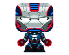 Paper Toy 3D Iron Patriot