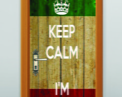 JUVENIL KEEP CALM  -  90cm X 220cm
