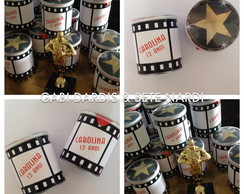 Rótulo Mini Batata Decorada - Cinema