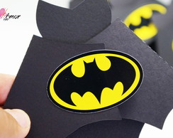 Convite Infantil - Morcego do Batman