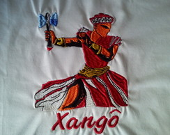 Camiseta Bordada Xangô