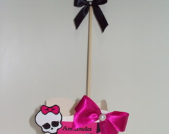 CACHEPOT MONSTER HIGH COM TOPPER!!