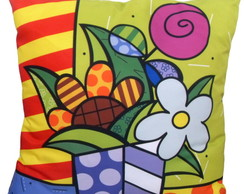 ALMOFADA POP ART - FLOWER 1