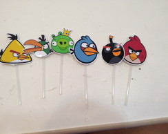 Toppers Personalizados Angry birds