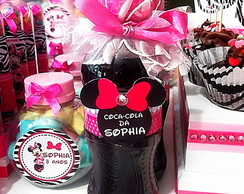 Mini Coca-cola Minnie Zebra Pink