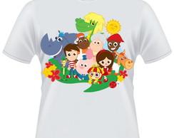 ... Camiseta Sitio do Pica Pau Amarelo 4af490256a8bf