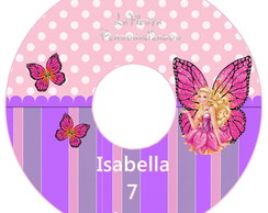 Etiqueta CD Barbie Butterfly