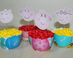Wrappers E Toppers Peppa Pig