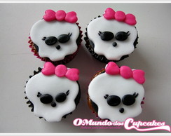 Apliques Mini Cupcake Monster High