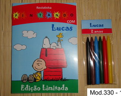 Revista Colorir Snoopy