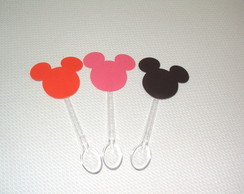 MINI COLHER SCRAP MICKEY E MINNIE!