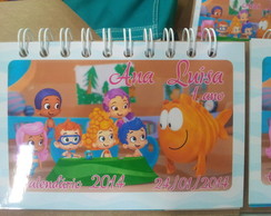 Calendario Bubble Guppies 2017