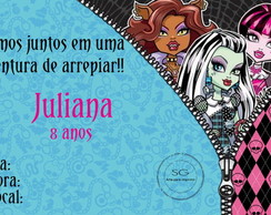 Convite Monster High 1