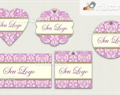 Kit Tags - Etiquetas Com Design Mod95