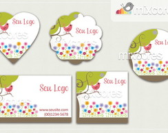 Kit Tags - Etiquetas Com Design Mod88