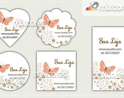 Kit Tags - Etiquetas Com Design Mod56