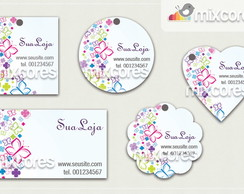 Kit Tags - Etiquetas Com Design Mod52