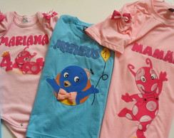 Camiseta Backyardigans- Uniqua
