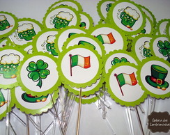 Topper para doces -St Patrick´s Day