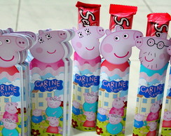 Capas Chocolate Peppa Pig