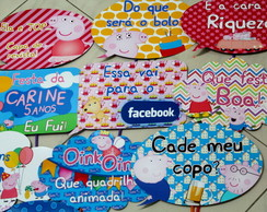 Kit Foto Maluca Peppa Pig