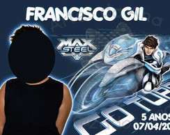 Max Steel Turbo Force Ímã