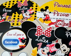 Kit Foto Maluca Mickey e Minnie