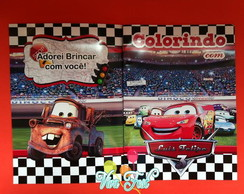 Kit Colorir Cars
