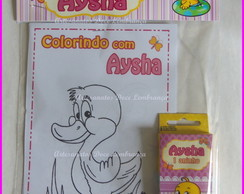 Kit de Colorir do Patinho
