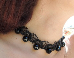 Chocker Black Onix