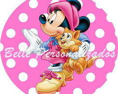 Arte Digital Minnie Rosa