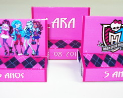 "Duo wafer com chocolate ""Monster High"""