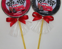 Pirulito de chocolate - Carros Disney